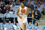 03 February 2013: North Carolina's Tierra Ruffin-Pratt. The University of North Carolina Tar Heels played the Duke University Blue Devils at Carmichael Arena in Chapel Hill, North Carolina in an NCAA Division I Women's Basketball game. Duke won the game 84-63.
