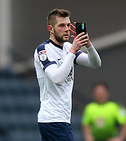 Preston North End's Tom Barkuizen leaves the pitch<br /> <br /> Photographer Mick Walker/CameraSport<br /> <br /> The EFL Sky Bet Championship - Preston North End v Reading - Saturday 11th March 2017 - Deepdale - Preston<br /> <br /> World Copyright &copy; 2017 CameraSport. All rights reserved. 43 Linden Ave. Countesthorpe. Leicester. England. LE8 5PG - Tel: +44 (0) 116 277 4147 - admin@camerasport.com - www.camerasport.com