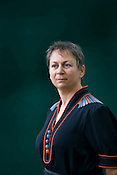 Anne Enright, 2007 winner of the Man Booker Prize, Irish author. Edinburgh International Book Festival, Edinburgh, Scotland. Edinburgh is the inaugural UNESCO City of Literature.