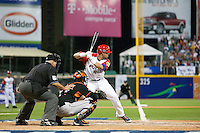 11 March 2009: #18 Geovany Soto of Puerto Rico is seen at bat during the 2009 World Baseball Classic Pool D game 6 at Hiram Bithorn Stadium in San Juan, Puerto Rico. Puerto Rico wins 5-0 over the Netherlands