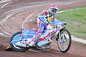 Heat 3: David Mason of Hackney - Hackney Hawks vs Team America - Speedway Challenge Meeting at Rye House - 09/04/11 - MANDATORY CREDIT: Gavin Ellis/TGSPHOTO - Self billing applies where appropriate - Tel: 0845 094 6026