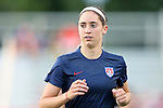 20 August 2014: Morgan Brian (USA). The United States Women's National Team played the Switzerland Women's National Team at WakeMed Stadium in Cary, North Carolina in an women's international friendly soccer game. The United States won the match 4-1.