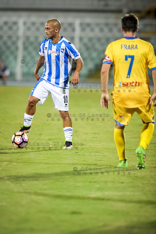 Benali Ahmed (PESCARA) during the Italian Cup - TIM CUP -match between Pescara vs Frosinone, on August 13, 2016. Photo: Adamo Di Loreto/BuenaVista*photo