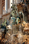 Matthias Fountain, Buda Castle, Budapest, Hungary