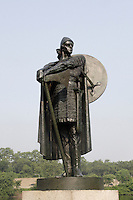 BRONZE STATUE OF THORFINN KARLSEFNI<br />