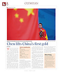 """China Daily - The Olympian"", August 10, 2008, Beijing China"