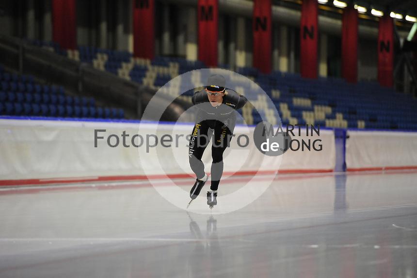 SCHAATSEN: HEERENVEEN: IJsstadion Thialf, 11-07-2013, Training zomerijs, Ronald Mulder, ©foto Martin de Jong