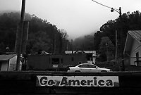 "War, WV, October 25 2008.""West Virginia Southernmost city"", War is a small coal miners' town, hit hard by the economic crisis; many of its inhabitants will vote for Obama as McCain is perceived to be the man from the oil companies, trying to destroy the coal mining industry."