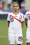 26 October 2014: Wendy Acosta (CRC). The United States Women's National Team played the Costa Rica Women's National Team at PPL Park in Chester, Pennsylvania in the 2014 CONCACAF Women's Championship championship game. By advancing to the final, both teams have qualified for next year's Women's World Cup in Canada. The United States won the game 6-0.