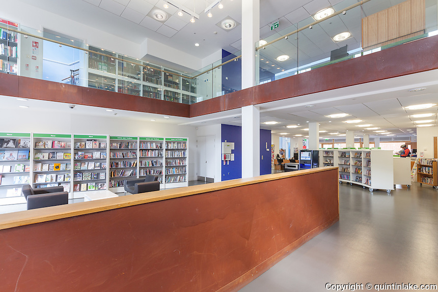Gravesend Library Refurbishment 2011, Kent, UK.  Architect: Clay Architecture