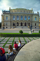 Prague, Czech Republic, July 2005. The opera. The city of Prague is more colourful than ever before. It offers both classical and modern designs, bars and hotels. Photo by Frits Meyst/Adventure4ever.com