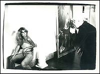 BNPS.co.uk (01202) 558833<br /> Picture: Warhol<br /> <br /> Andy Warhol with actress Farrah Fawcett<br /> <br /> Never-before-seen photographs of celebrities captured in informal moments by the artist Andy Warhol are to be sold. The American pop artist used photography as a medium of art towards the end of his career and had a tendency to snap spontaneous moments. Many of his subjects were showbiz friends who frequented the same nightclubs as Warhol or visited his luxurious beach house or vast 'factory'. They included the likes of John Lennon, Mick Jagger, Elizabeth Taylor, Madonna, Sting, Bruce Springstein, Lizi Minnelli, Diana Ross and Debbie Harry. At the other end of the scale, he also turned his eye to capturing domestic items such as a room service tray, hotel chandeliers and even a row of urinals.