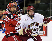 Jake Morissette (RPI 8), Kyle Kucharski (BC 18) - The Boston College Eagles defeated the Rensselaer Polytechnic Institute Engineers 4-1 in the consolation game of the Ice Breaker Tournament on Saturday, October 13, 2007, at the Xcel Energy Center in St. Paul, Minnesota.