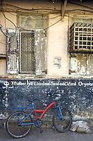 Mumbai, a building in the Banganga area,India