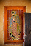 Virgin of Guadalupe, Casa Barragan, Chapala, Lake Chapala, Jalisco, Mexico
