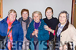 Anna Thomas, Mei Carton, Shirley Harris and Mary Quirke and Josephine Hayes at the Killarney Active retirement lunch in the INEC on Sunday