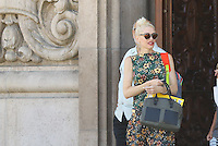 AUG 23 Gwen Stefani and Sons Attending Church