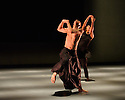 London, UK. 03.03.2016. Akram Khan Company presents KAASH, at Sadler's Wells. the dancers are: Kristina Alleyne, Sade Alleyne, Sung Hoon Kim, Nicola Monaco, Sarah Cerneaux. Photograph © Jane Hobson.