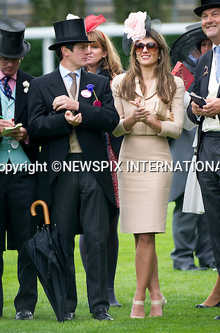 "ROYAL ASCOT 2011 LADIES DAY..Elizabeth Hurley watches her horse Census come in second in The King George V Stakes at Royal Ascot.  Royal Ascot_16/06/2011..Mandatory Photo Credit: ©Dias/Newspix International..**ALL FEES PAYABLE TO: ""NEWSPIX INTERNATIONAL""**..PHOTO CREDIT MANDATORY!!: NEWSPIX INTERNATIONAL(Failure to credit will incur a surcharge of 100% of reproduction fees)..IMMEDIATE CONFIRMATION OF USAGE REQUIRED:.Newspix International, 31 Chinnery Hill, Bishop's Stortford, ENGLAND CM23 3PS.Tel:+441279 324672  ; Fax: +441279656877.Mobile:  0777568 1153.e-mail: info@newspixinternational.co.uk"