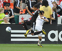 DC United midfielder Andy Najar (14)   DC United and Real Salt Lake tied 0-0 at RFK Stadium, Wednesday  June 2  2010.