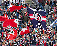 New England Revolution fans. In a Major League Soccer (MLS) match, the New England Revolution defeated Portland Timbers, 1-0, at Gillette Stadium on March 24, 2012