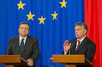 Jose Manuel Baroso visits Viktor Orban