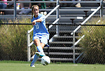 11 September 2011: North Carolina's Kelly McFarlane. The Texas A&M Aggies defeated the University of North Carolina Tar Heels 4-3 in overtime at Koskinen Stadium in Durham, North Carolina in an NCAA Division I Women's Soccer game.