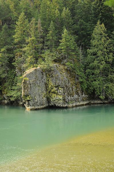 Gorge Lake, North Cascades, Glacier Park Photo. Marc Caryl Nature and Landscape Photos.
