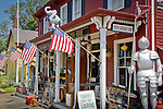 White Elephant antique shop in Essex, North Shore, MA, USA