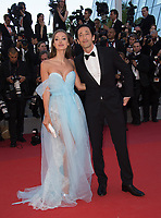 Adrien Brody &amp; Lara Lieto at the premiere for &quot;Ismael's Ghosts&quot; at the opening ceremony of the 70th Festival de Cannes, Cannes, France. 17 May 2017<br /> Picture: Paul Smith/Featureflash/SilverHub 0208 004 5359 sales@silverhubmedia.com