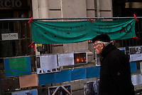 L'Aquila  20 Novembre 2010.Sos L'Aquila chiama Italia.La città  del L'Aquila  dopo 18 mesi dal terremoto...Sos L'Aquila called  Italy.The city of L'Aquila 18 months after the earthquake.