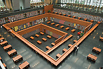The Chinese national library opened in Bejing in August 2008. Architect: KSP-Engel und Zimmermann