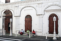 The Jumma Masjid Mosque, Port Louis.