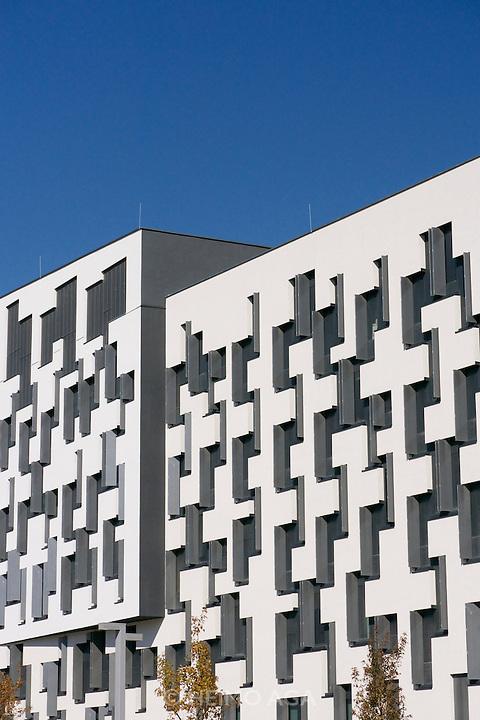 Vienna, Austria. The new WU Campus (University of Economics).<br /> D4 (Departments 4) by Estudio Carme Pinos, Barcelona.