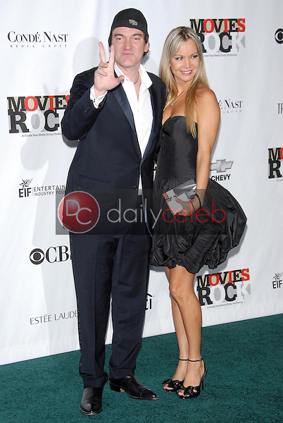 Quentin Tarantino and guest<br />
