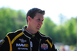 May 6, 2012; Commerce, GA, USA: NHRA top fuel dragster driver Morgan Lucas during the Southern Nationals at Atlanta Dragway. Mandatory Credit: Mark J. Rebilas-