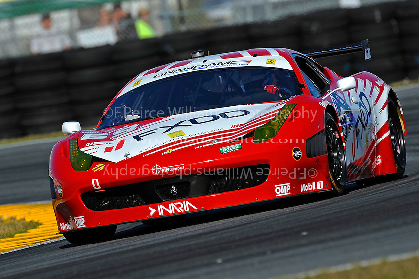 #69 AIM Autosport Team FXDD Ferrari 458 of Emil Assentato, Jeff Segal, Nick Longhi & Anthony Lazzaro