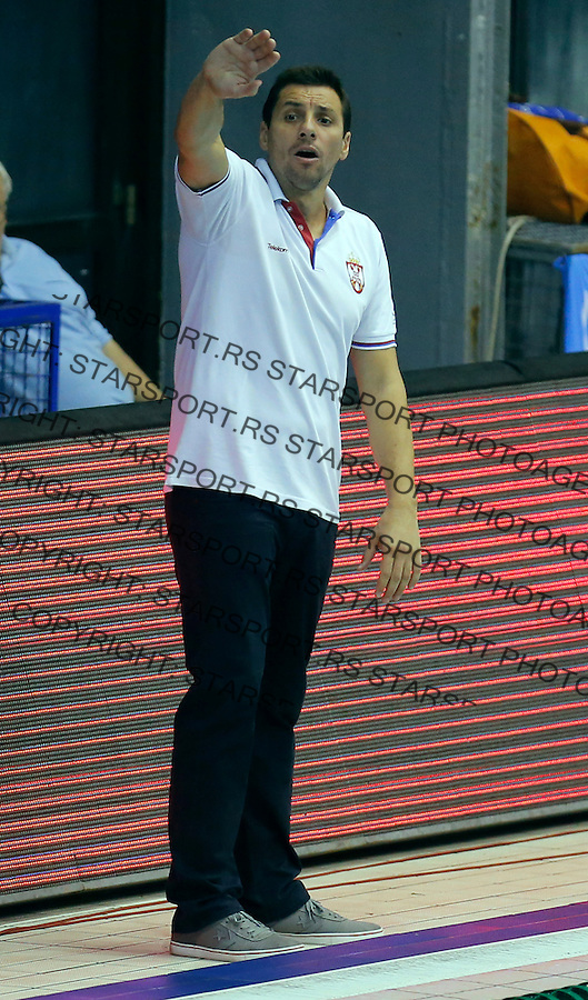 Vladimir Vujasinovic Vaterpolo svetska liga Srbija - Francuska, world league waterpolo, Serbia - France Oktobar 20. 2015 Beograd, Srbija, 20.10.2015.  (credit image & photo: Pedja Milosavljevic / STARSPORT)