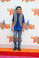 WESTWOOD, CA - OCTOBER 23: Isaak Presley at the premiere Of 20th Century Fox's 'Trolls' at Regency Village Theatre on October 23, 2016 in Westwood, California. Credit: David Edwards/MediaPunch