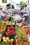 Basilicata, ITALY Local farmers market,