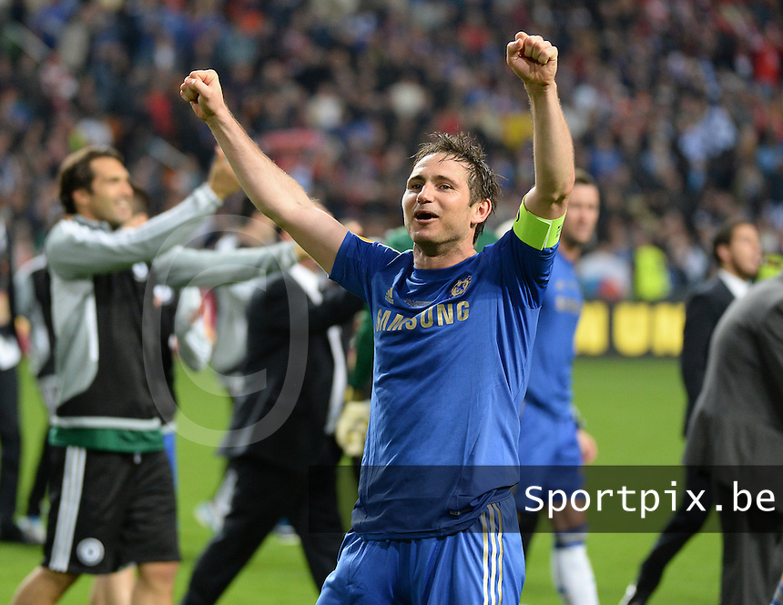 Benfica Lissabon - Chelsea FC : Frank Lampard.foto DAVID CATRY / Nikonpro.be