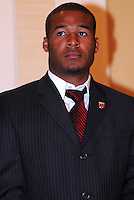 DC United defender Ethna White, at the 2011 Season Kick off Luncheon, at the Marriott Hotel in Washington DC, Wednesday March 16 2011.