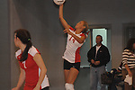Lafaueyye High vs. Ackerman in high school playoff volleyball Oxford, Miss. on Tuesday, October 5, 2010.