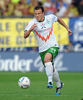 FUSSBALL   INTERNATIONALES TESTSPIEL  SAISON 2011/2012   SV Werder Bremen - Fenerbahce Istanbul               23.08.2011 Philipp BARGFREDE (Werder Bremen) Einzelaktion am Ball