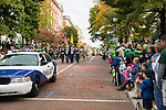 The start of the homecoming parade at Ohio on Oct. 11, 2014.