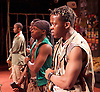 Liberian Girl <br /> at the Royal Court Theatre, London, Great Britain <br /> press photocall<br /> 9th January 2015 <br /> <br /> <br /> Landry Adelard as Soldier<br /> <br /> <br /> <br /> <br /> Photograph by Elliott Franks <br /> Image licensed to Elliott Franks Photography Services