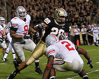 06 October 2007: Purdue tight end Dustin Keller (28)..The Ohio State Buckeyes defeated the Purdue Boilermakers 23-7 on October 06, 2007 at Ross-Ade Stadium, West Lafayette, Indiana.