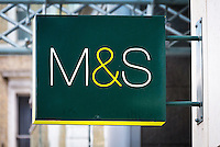 Marks and Spencer Sign - Aug 2013.