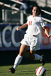 Florida State's Libby Gianeskis on Wednesday, November 2nd, 2005 at SAS Stadium in Cary, North Carolina. The Florida State University Seminoles defeated the Clemson University Tigers 4-0 during their Atlantic Coast Conference Tournament Quarterfinal game.