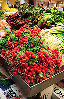 FRUITS &amp; VEGETABLES: FARMERS MARKET<br /> (Variations Available)<br /> Fresh Radishes, Scallions And Beets<br /> Vegetables provide vitamin A, vitamin C, fiber and other nutrients.  The deeper the color, the richer the nutrient content.